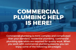 Commercial Plumbing Help is Here! [infographic]